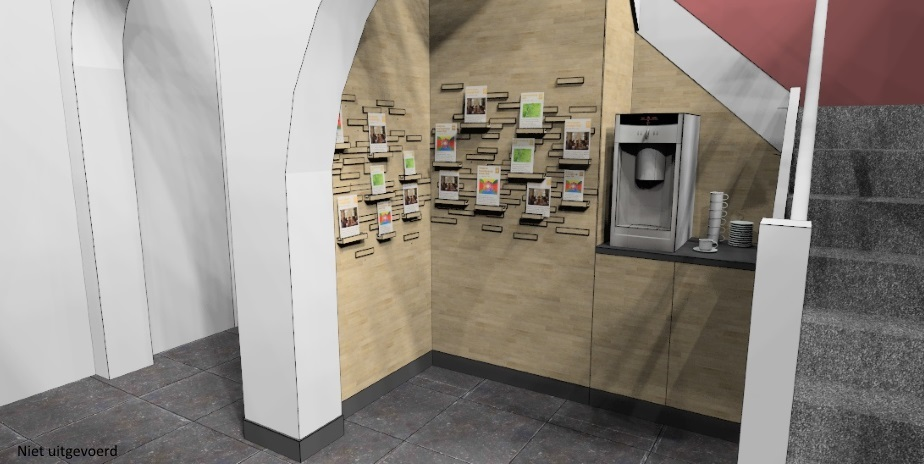 modernisering interieur cultureel centrum