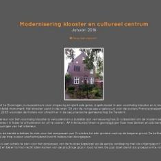 Verbouw herinrichting klooster