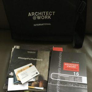 Bezoek beurs architect@work